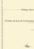 (couverture de 9 Fables de La Fontaine)