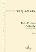 couverture de Three Preludes