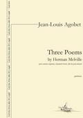 couverture de Three Poems by Herman Melville