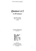 (couverture de Quatuor n° 2)