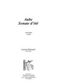 couverture de Aube, Sonate d'été