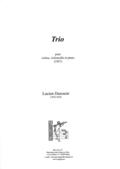 couverture de Trio