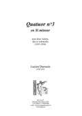 (couverture de Quatuor n° 3)