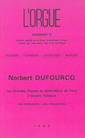 (couverture de Numéro spécial: Les grandes orgues de Saint-Merry de Paris à travers l'histoire)