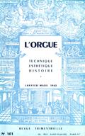 (couverture de Mode et facture d'orgues (II) — L'orgue de Vézelise (II) — L'orgue en Europe centrale et orientale — L'Orgelprobe de Werkmeister (II))