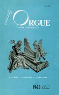 (couverture de L'orgue de Nielles-les-Ardres (suite et fin) — Les anciennes orgues de la cathédrale de Metz démontées en 1805 (II) — Du tempérament et de la partition — Où en sommes-nous?)