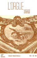 (couverture de Les orgues en France pendant la Révolution — Les orgues de l'église luthérienne des Billettes — La cathédrale Saint-Sauveur d'Aix-en-Provence — Des orgues à Nîmes — L'orgue d'Allevard-les-Bains)