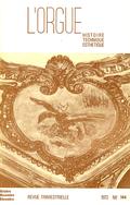 (couverture de L'enseignement de l'orgue au Conservatoire avant César Franck — Deux concertos pour orgue — Le nouvel orgue de la cathédrale de Quimper — L'orgue Silbermann du temple Saint-Jean de Mulhouse)