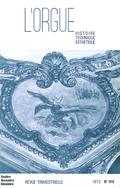 (couverture de Pour le centenaire de la naissance de Max Reger — Les Dallery, facteurs d'orgues et inventeurs — Les orgues de Saint-Benoît de Castres — L'orgue de la cathédrale de Saint-Omer)