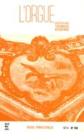 (couverture de Les orgues de l'église Notre-Dame de Millau — Orgues de campagne en Haut-Quercy (III) — Les orgues de l'abbaye royale de Jouarre — Un brillant élève des frères Haydn: Sigismond Neukomm)