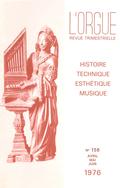 (couverture de Lettre du Japon — Le grand orgue de Saint-Alain de Lavaur — Orgues honfleuraises — Positifs et cabinets d'orgue)