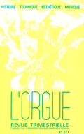 (couverture de Charles Tournemire et les Sept Chorals-Poèmes d'Orgue pour les Sept Paroles du Christ — Nouvelles notes sur l'orgue de Solliès-Ville (Var) — Les orgues de Saint-Victor de Marseille)