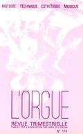 (couverture de Réflexions sur la musique liturgique — L'orgue de Saint-Martin d'Uriage — Le grand orgue de l'église Saint-Pierre de Coutances — Auch après Jean de Joyeuse)