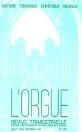(couverture de L'orgue de la cathédrale de Meaux en remontant le fil des années… — L'orgue du lycée Jacques-Decour, à Paris — La facture d'orgues dans la Pologne ancienne)