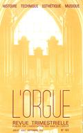 (couverture de La vie de l'orgue à Paris au XVIIIe siècle— Cinq siècles d'orgues à Castelnaudary — Mouvements de réforme et de contre-réforme dans la manufacture d'orgues au Danemark)