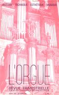 (couverture de Remarques à propos d'un manuscrit inédit de Pierre Veerkamp — Les jeux d'anche du grand orgue et leurs résonnateurs — Le grand orgue de la Ferté-Bernard — Orgues anglais du Devonshire)