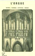 (couverture de Le grand orgue du Sacré-Cœur de Montmartre — Adolphe Hesse à Paris en 1844 — Entretien avec Jeanne Joulain — Hans Klotz, organiste et musicologue allemand)