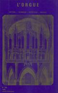 (couverture de Des organistes face à La Marseillaise (I) — Daniel-Lesur — Eugène Reuchsel — Un orgue de cinéma bien particulier — Un demi-siècle de musique d'orgue française vu par deux étrangers)