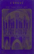 (couverture de Des organistes face à La Marseillaise (II) — Abel Decaux — Le grand orgue de l'abbaye Sainte-Scholastique de Dourgne — Orgue et philatélie — Entretien avec Naji Hakim)