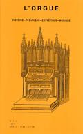 (couverture de L'organiste Johann Christian Herzog et son œuvre pédagogique — L'orgue de la cathédrale du Puy-en-Velay et celui de La Chaise-Dieu. Étude de leur esthétique visuelle)