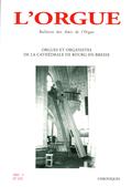 (couverture de Orgues et organistes de la cathédrale de Bourg-en-Bresse)