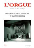 (couverture de Trois aspects de l'orgue aux États-Unis: la facture, l'enseignement, la musique contemporaine)