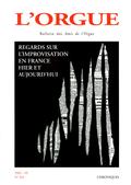 (couverture de Regards sur l'improvisation en France hier et aujourd'hui (première partie))