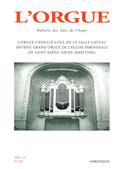(couverture de L'orgue Cavaillé-Coll de la salle Gaveau devenu grand orgue de l'église paroissiale de Saint-Saëns (Seine-maritime))
