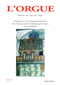 (couverture de L'orgue et les anges musiciens de l'église Saint-Pierre-Saint-Paul de Gonesse)