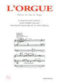 (couverture de À chacun son chant: Jean-Pierre Leguay, musiques pour orgue et avec orgue)