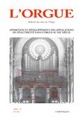couverture de Apparition et développement des applications de l'électricité dans l'orgue au XIXe siècle