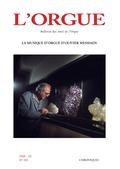 couverture de La musique d'orgue d'Olivier Messiaen