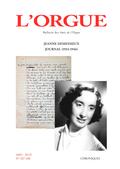 couverture de Jeanne Demessieux, Journal (1934-1946)