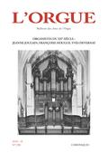 couverture de Organistes du XXe siècle: Jeanne Joulain, Françoise Hougue, Yves Devernay