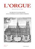 couverture de Les Orgues et les Organistes de la cathédrale Sainte-Croix d'Orléans