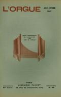(couverture de L'orgue dans l'Antiquité – L'inauguration des grandes orgues historiques de la chapelle Saint-Lois du Prytanée Militaire de La Flèche)