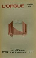 (couverture de En souvenir de M.-J. Erb – De l'orgue néo-classique – L'influence des Flamands sur les Français en matière de construction d'orgues – Une belle figure de prêtre mélomane: Mgr Giraud)