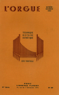 (couverture de Une enquête des Amis de l'orgue sur le rôle liturgique de l'organiste – Le grand orgue de Saint-Félix-de-Lauragais – Les grandes orgues de l'église Notre-Dame de Saint-Dizier)