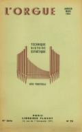(couverture de Antoine Reboulot, organiste de Saint-Germain-des-Prés – L'esthétique de l'orgue en Angleterre – Le grand orgue de Notre-Dame de Paris, à l'époque classique)