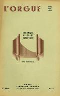 (couverture de Les grandes orgues de l'église Notre-Dame de Saint-Dizier – Un drame organistique à Saint-Séverin au temps du Grand Roi – Les facteurs d'orgues étrangers: L. Verschueren C.V., à Heythuysen (Hollande))