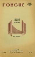 (couverture de À la mémoire d'un organiste. Michel-Richard Delalande – Le grand orgue de Notre-Dame de Paris à l'époque classique (1731-1838) – Le grand orgue de l'église Saint-Denis de Saint-Omer)