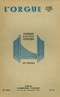 (couverture de Les d'Andrieu – L'orgue Silbermann de Marmoutier en Alsace – Inauguration des orgues de l'église abbatiale de Marmoutier – Au banc d'orgue – Grand orgue de la cathédrale Saint-Bénigne de Dijon)
