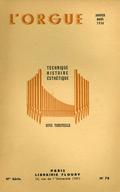 (couverture de Les d'Andrieu –  Autour du grand orgue de la cathédrale Saint-Bénigne de Dijon – Une victime du feu: l'orgue de Saint-Jean-du-Doigt (Finistère) – En flânant… au fil des jours et des orgues)