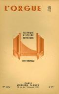 (couverture de Jean Giroud, organiste de Saint-Louis de Grenoble – Inauguration de l'orgue de la cathédrale de Lausanne – L'orgue de Solliès-Ville (Var), le plus ancien de France (1499))