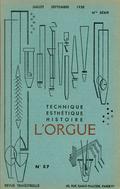 (couverture de Inauguration de l'orgue de Prats-de-Mollo – Orgue et acoustique (III). Les tuyaux à anches – Du premier grand orgue de Saint-Étienne-du-Mont à l'achèvement du second)