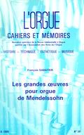 (couverture de Les grandes œuvres pour orgue de Mendelssohn)