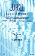 (couverture de Orgues en Cotentin – Situation actuelle)