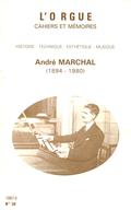 (couverture de André Marchal (1894-1980) – Sa carrière)