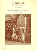 (couverture de Michel Corrette et l'orgue (1707-1795), par Yves Jaffrès)