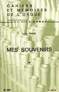 couverture de «Mes Souvenirs» et «Journal» (fragments), de Louis Vierne